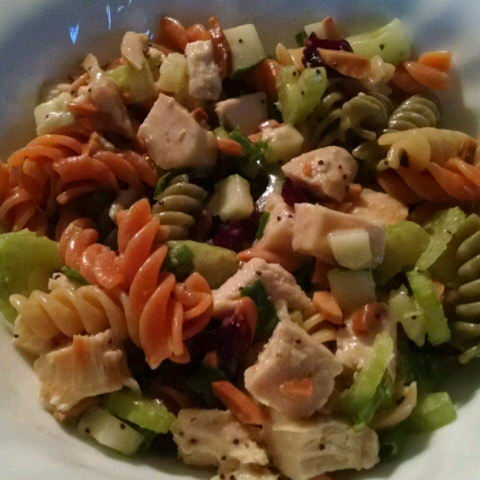 Poppy Seed Chicken Pasta Salad