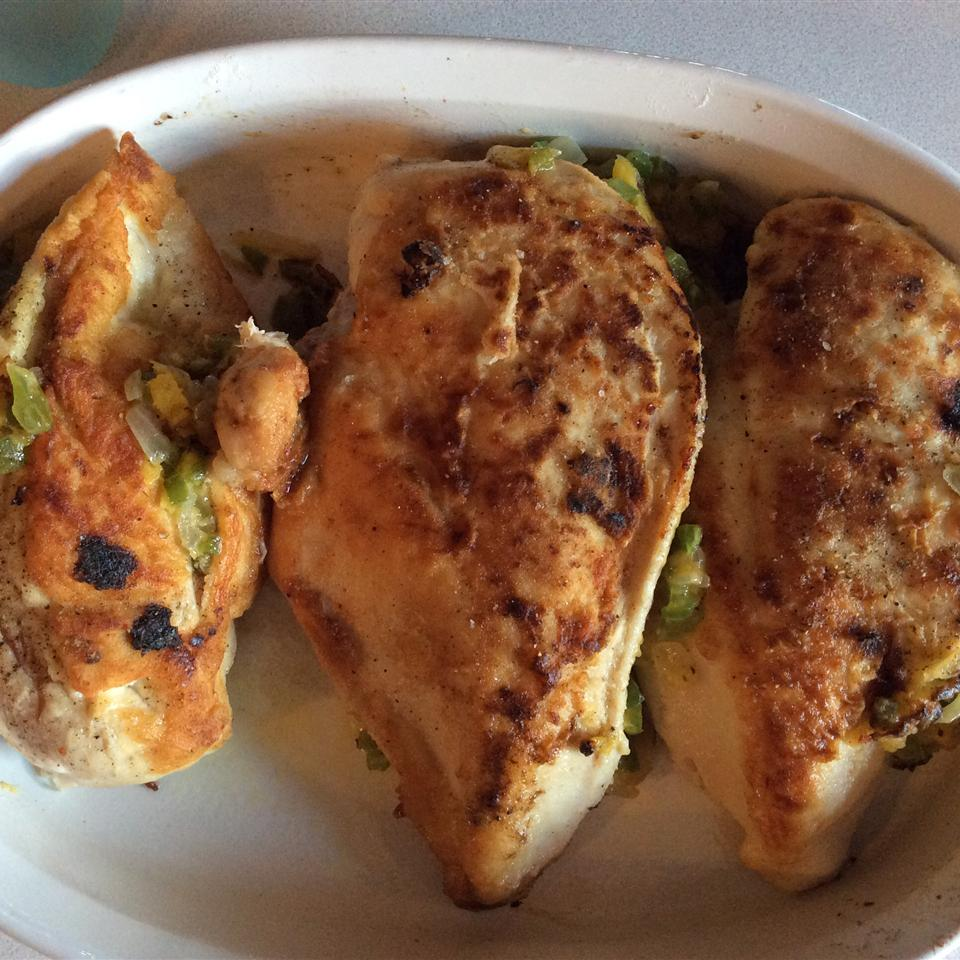 Squash Stuffed Chicken Breasts Le Ann Braswell