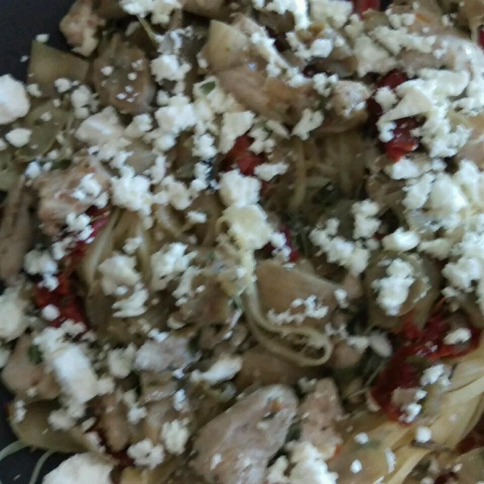 Chicken with Artichokes and Sundried Tomatoes Angela Corbit