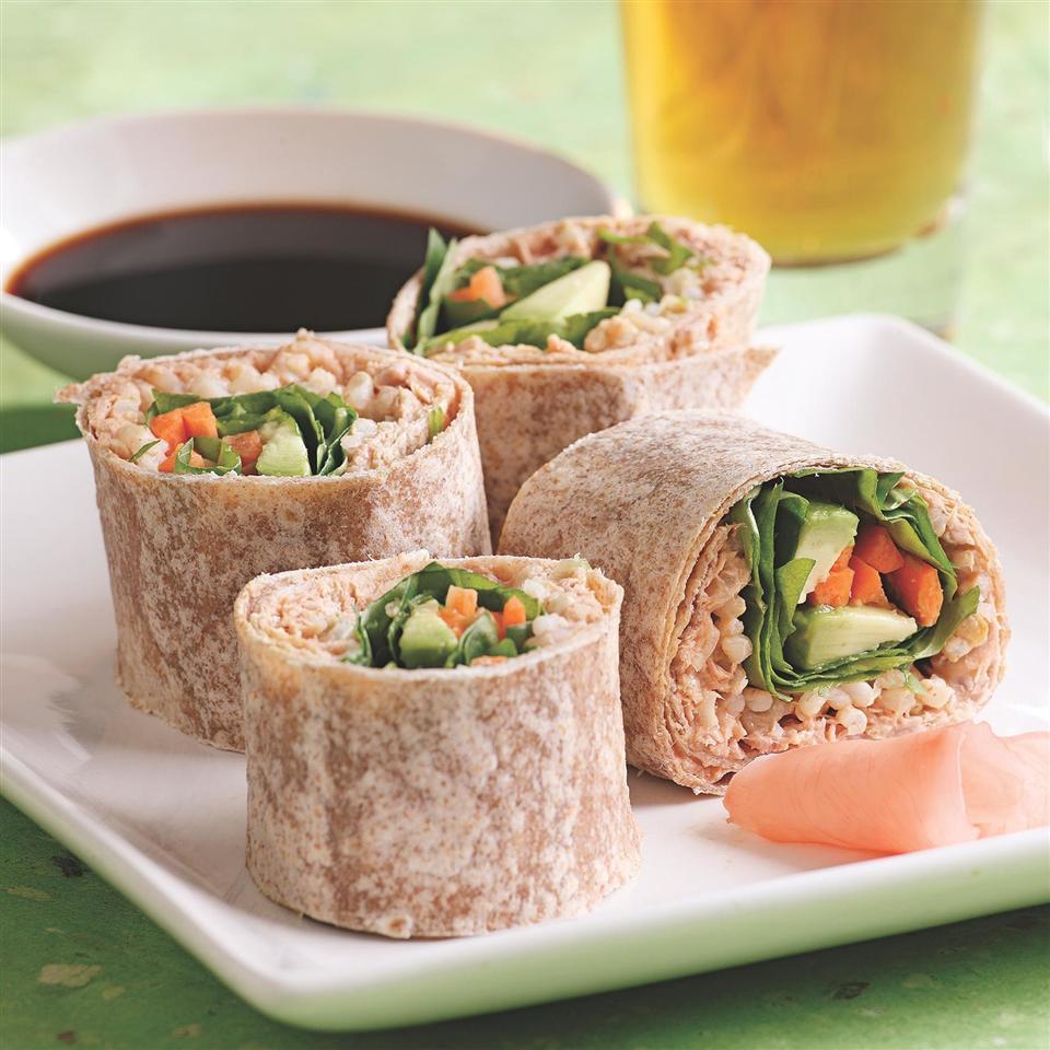 Spicy Tuna Wrap EatingWell Test Kitchen