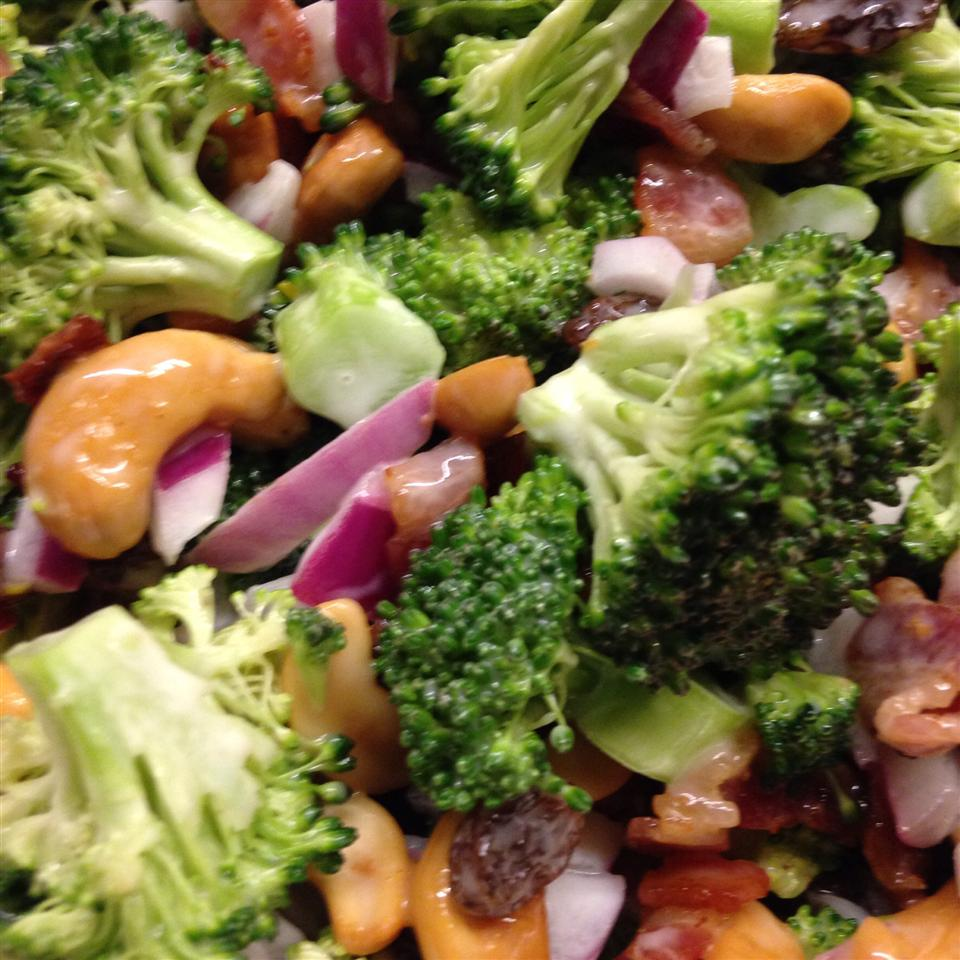 Broccoli Cashew Salad mustang sally
