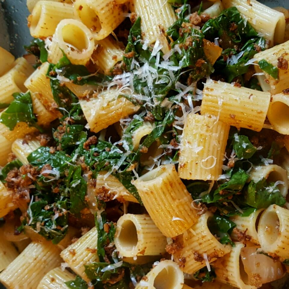 Chorizo and Broccoli Rabe Pasta kikikalooki