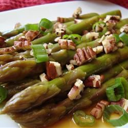 Asian Asparagus Salad with Pecans image