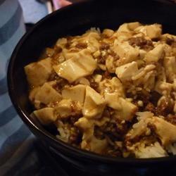 Chinese Mabo Tofu poshpal