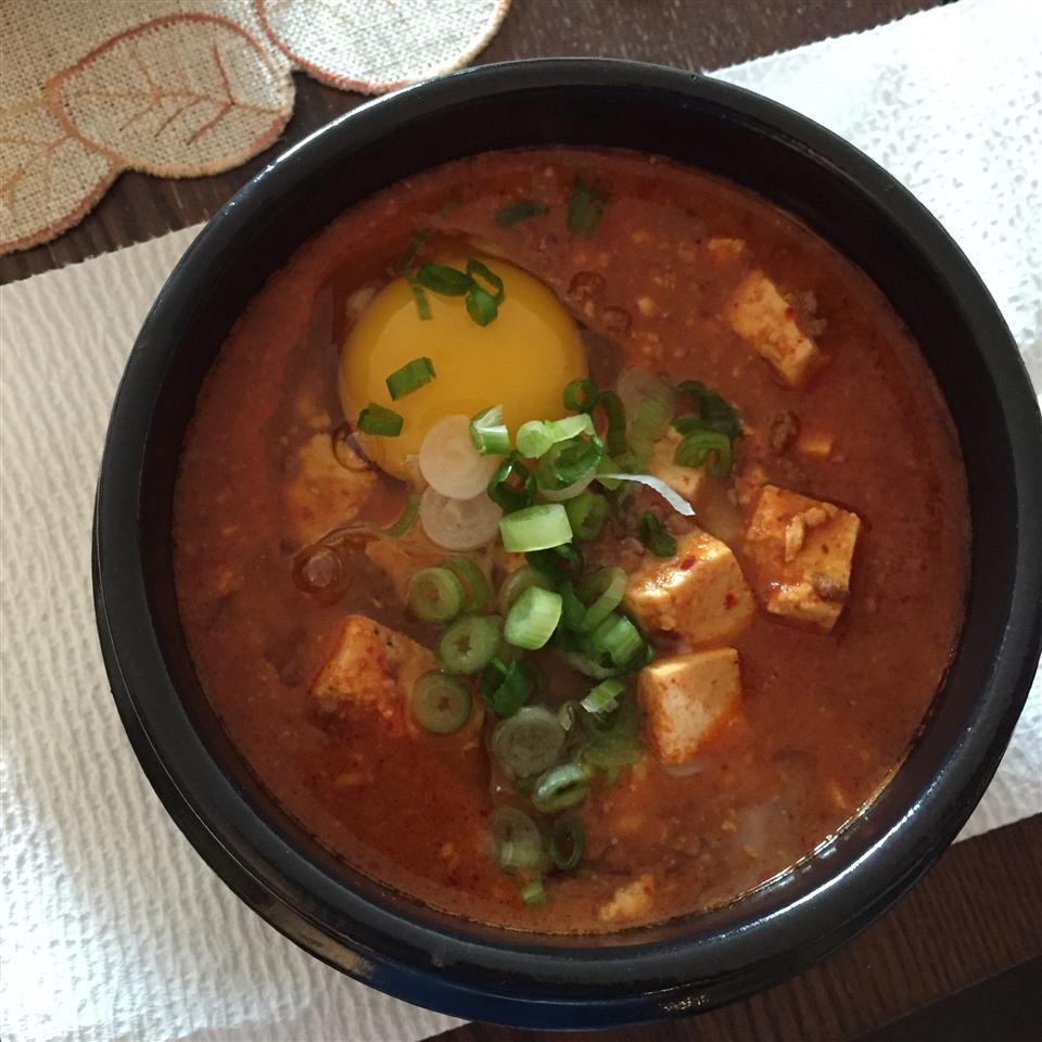 Korean Soft Tofu Stew (Soon Du Bu Jigae) Wojciech Giec