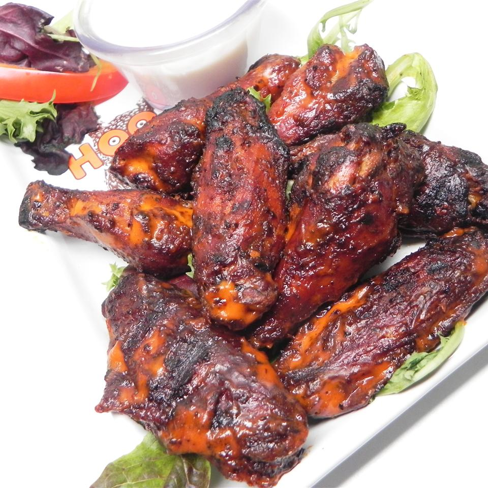 Smoked Chicken Hot Wings