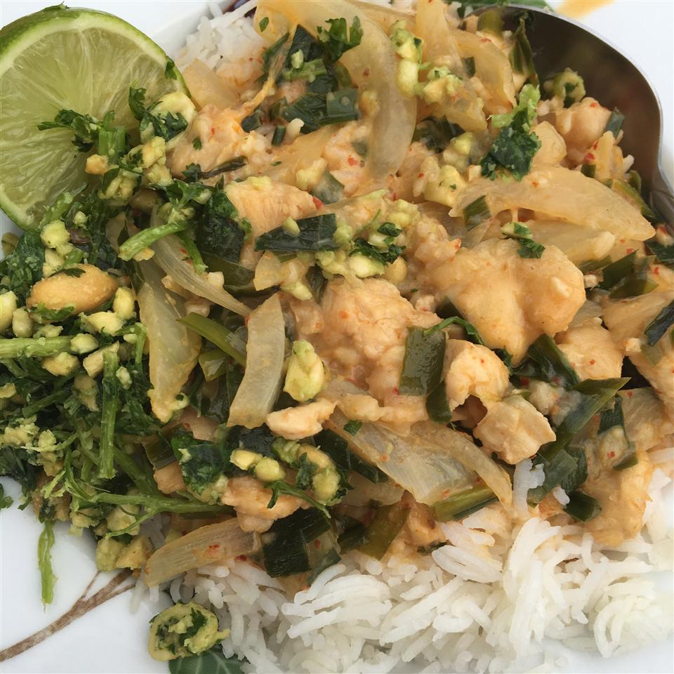 Thai Green Curry Chicken WifeandChef