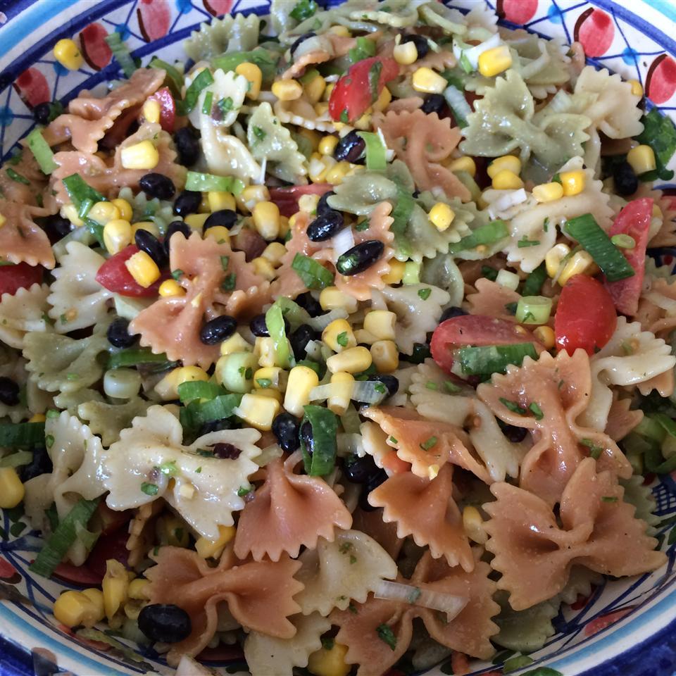 cold southwestern bow tie pasta recipe