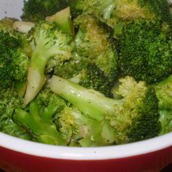 Roasted Garlic Lemon Broccoli MN Nice