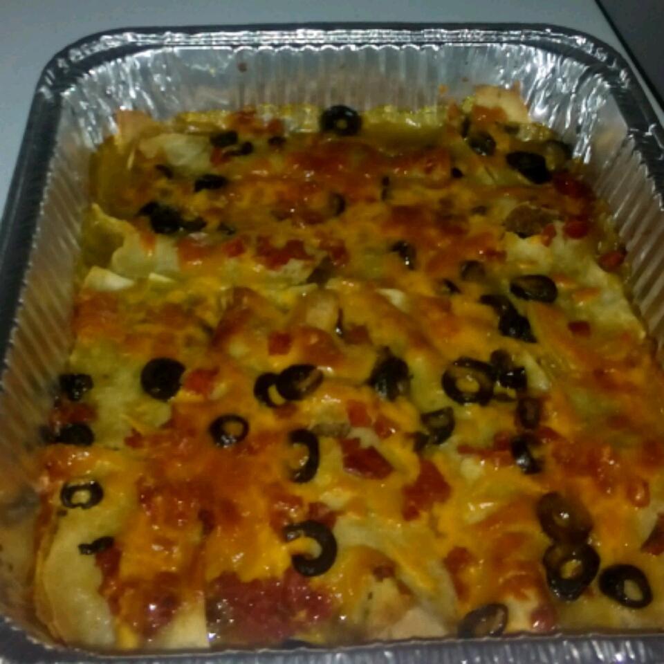 Easy Green Chile Chicken Enchiladas Beverly Robinson