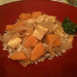 Pumpkin Coconut Curry hsyousef