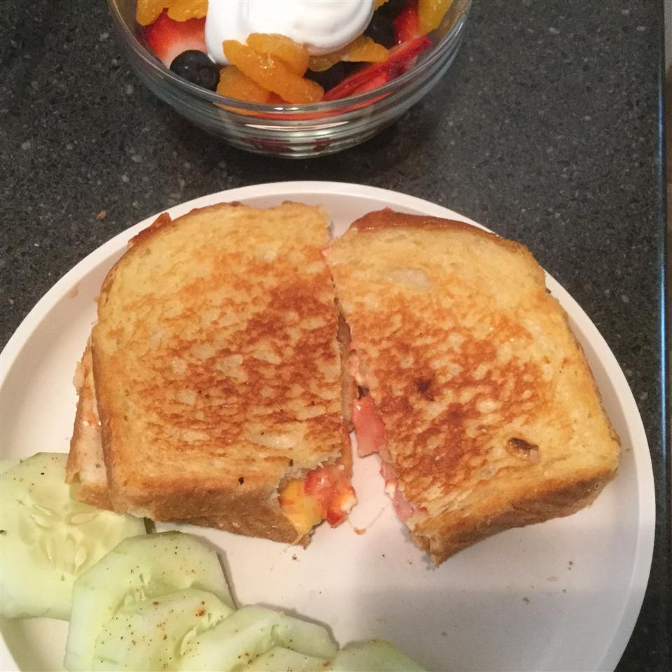 Greek Grilled Cheese michele