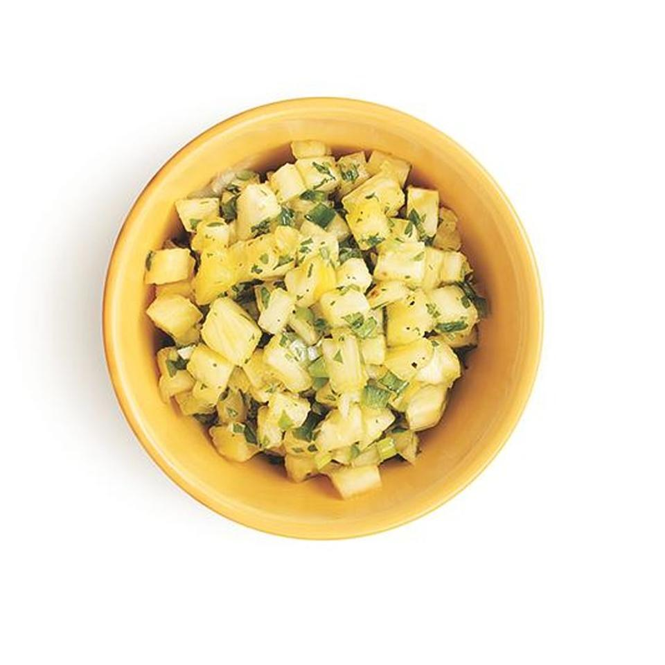 Pineapple & Jalapeño Salsa EatingWell Test Kitchen