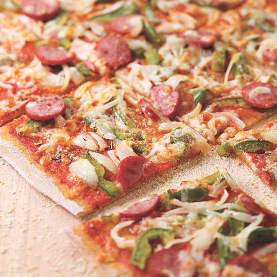 Smoked Sausage Pizza EatingWell Test Kitchen