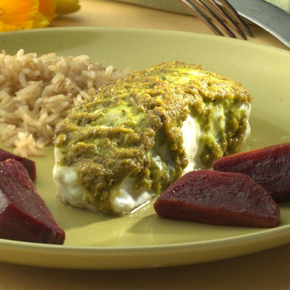 Halibut with Herbs & Capers Marcy Goldman