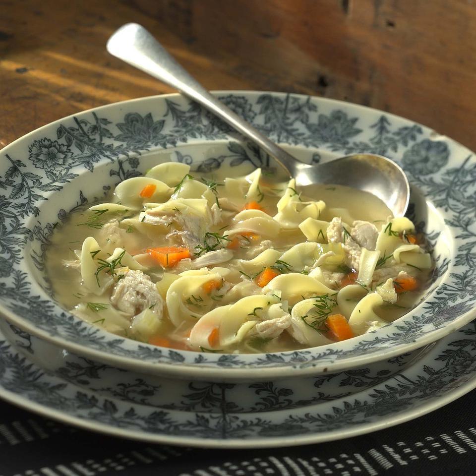 Chicken Noodle Soup with Dill Deidre Senior