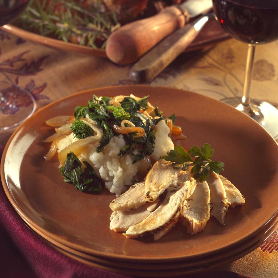 Mashed Potatoes & Turnips with Greens Deborah Madison