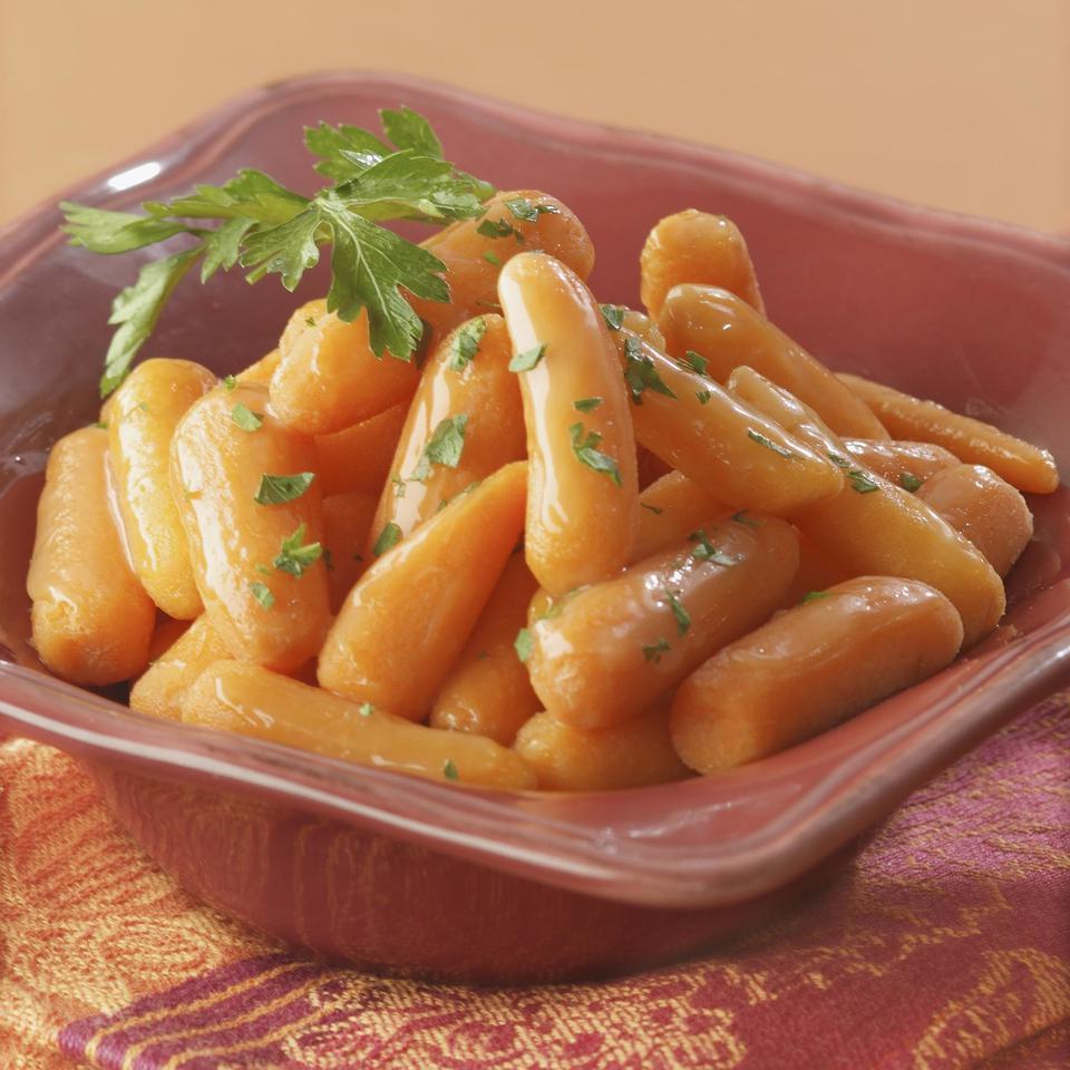 Glazed Mini Carrots EatingWell Test Kitchen