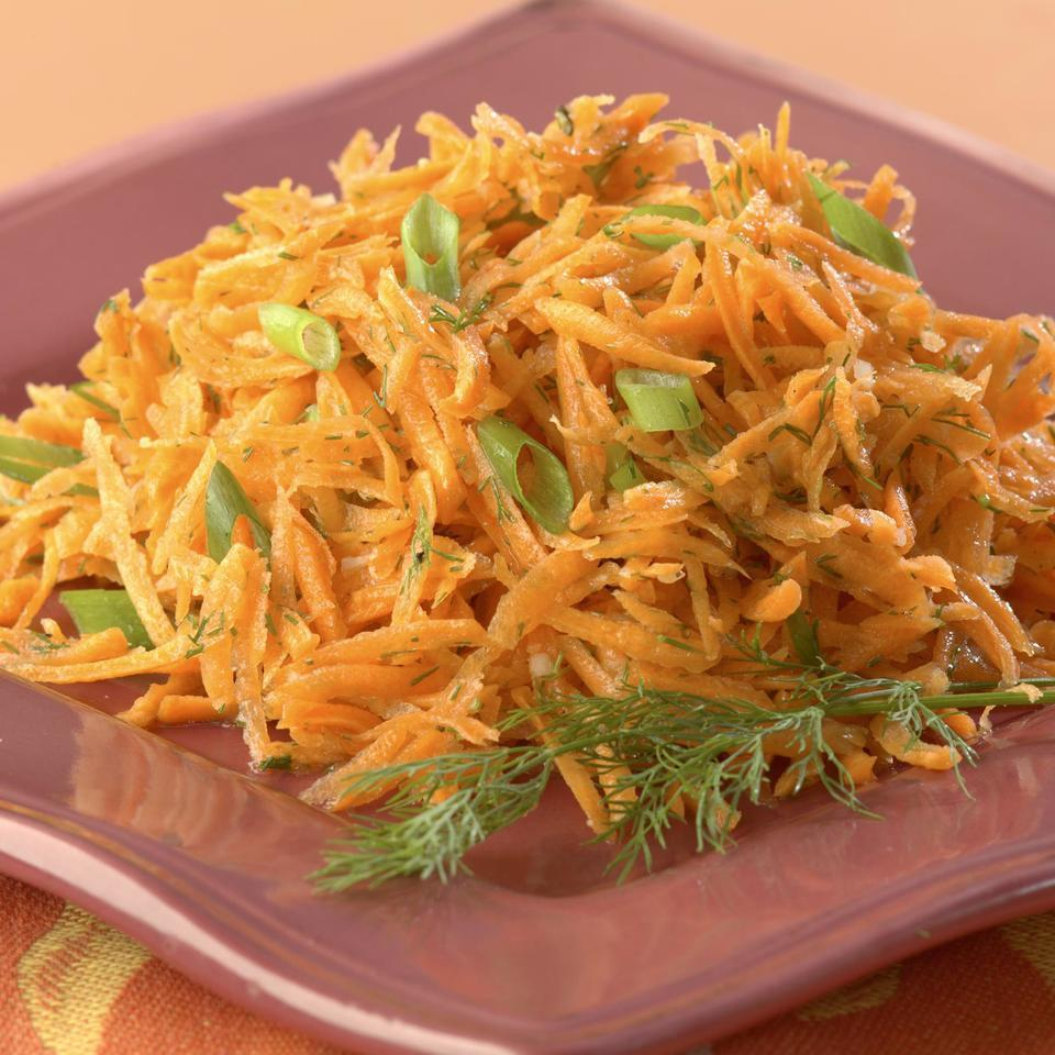 Lemony Carrot Salad with Dill EatingWell Test Kitchen