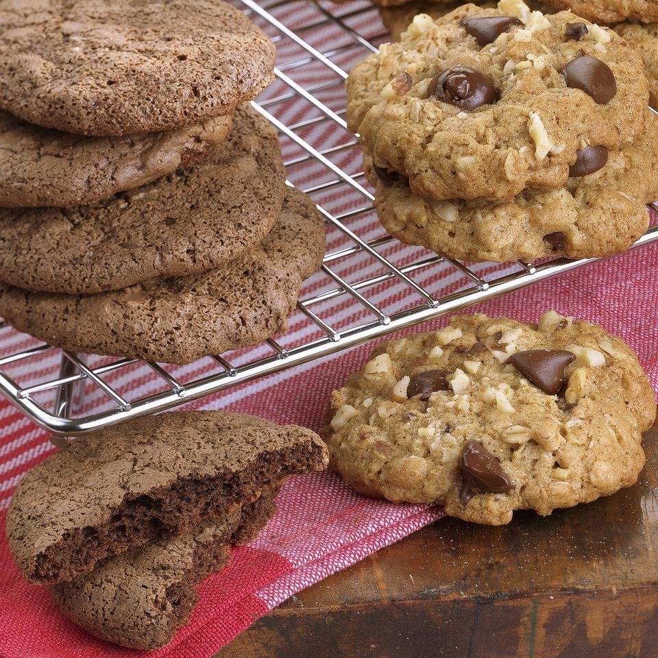 Chewy Chocolate Cookies EatingWell Test Kitchen
