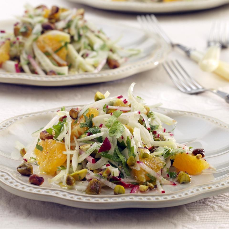 Fennel & Orange Salad with Toasted Pistachios Victoria Abbott Riccardi