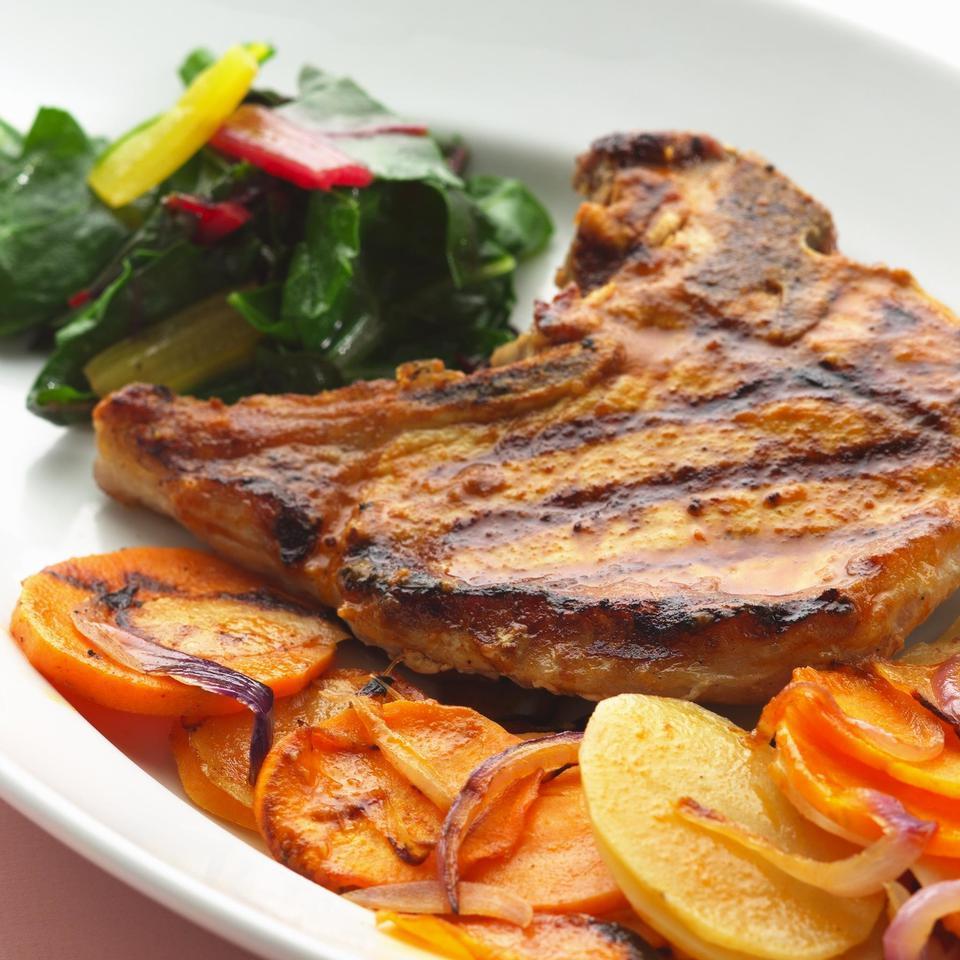 Adobo Pork & Potato Packets EatingWell Test Kitchen