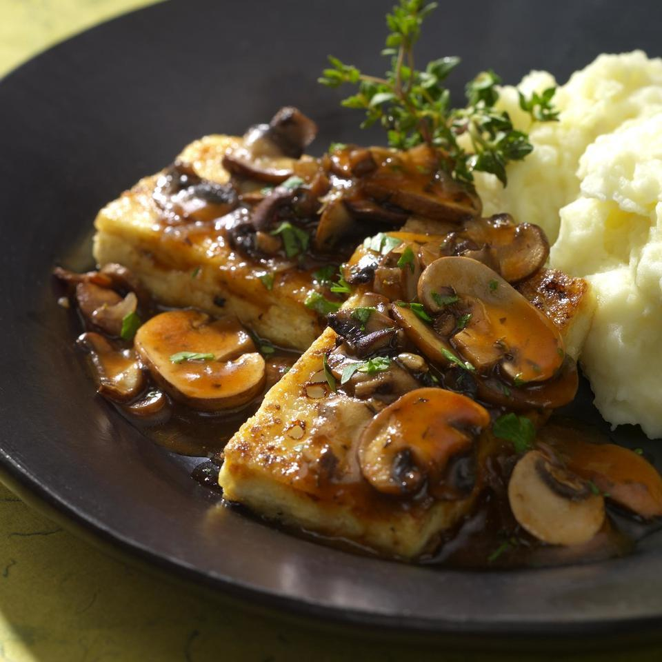 Tofu Cutlets Marsala EatingWell Test Kitchen