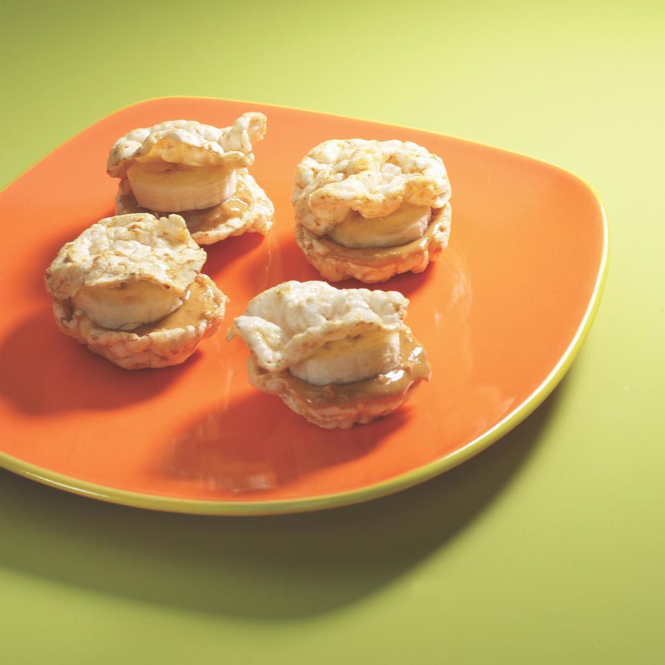 Mini Rice-Cake Stack EatingWell Test Kitchen
