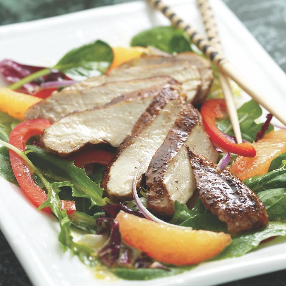 Five-Spice Chicken & Orange Salad EatingWell Test Kitchen