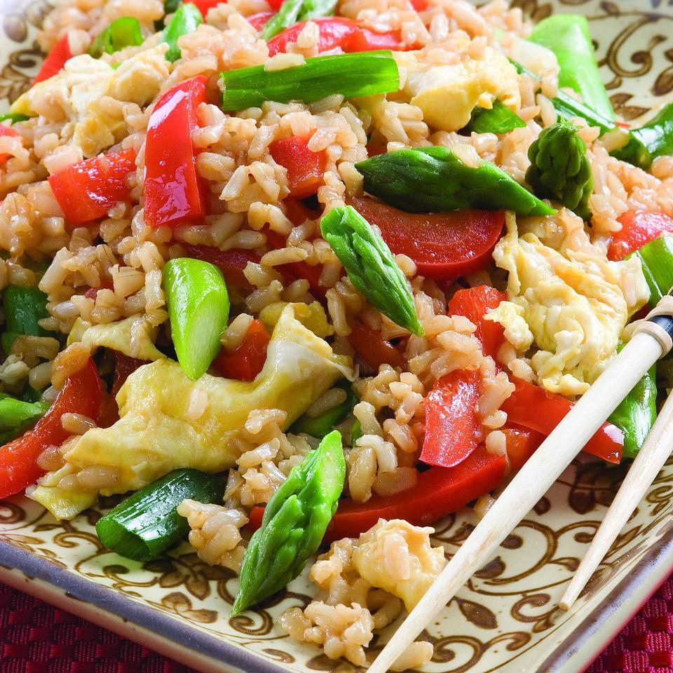 Vegetable Fried Rice EatingWell Test Kitchen