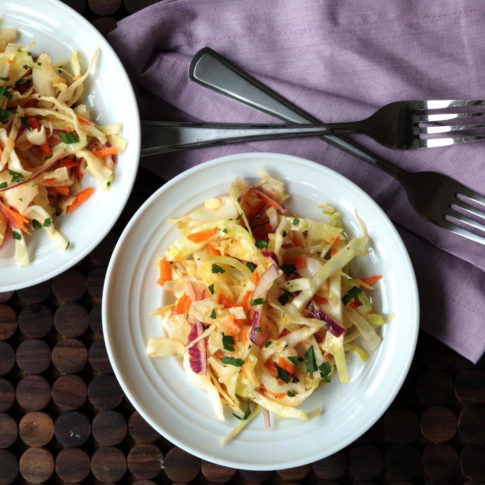 Vinegary Coleslaw EatingWell Test Kitchen