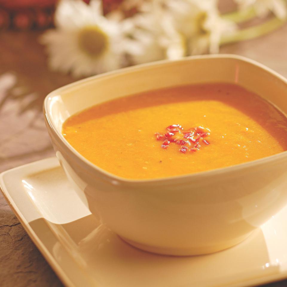 Golden Gazpacho EatingWell Test Kitchen