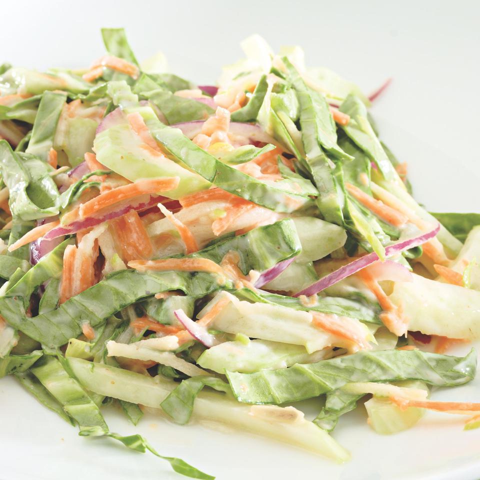 Crunchy Bok Choy Slaw EatingWell Test Kitchen
