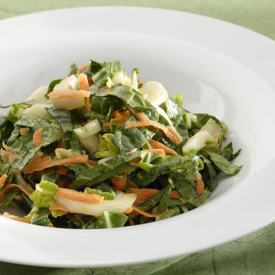 Bok Choy-Apple Slaw EatingWell Test Kitchen