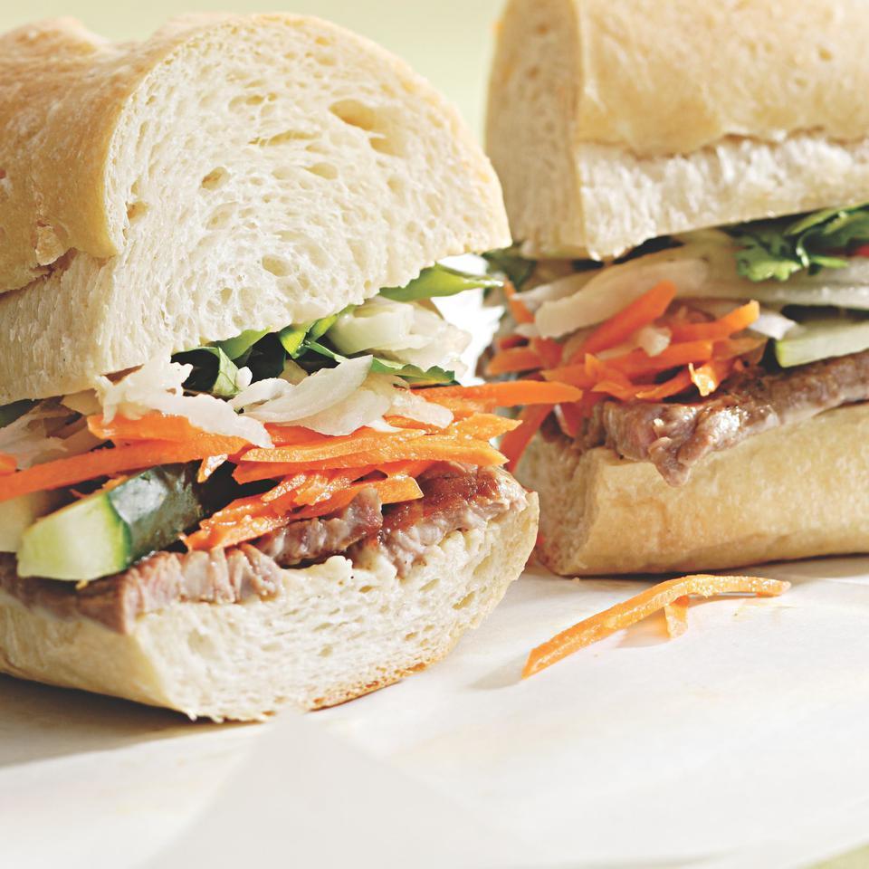 Vietnamese Steak Sandwich EatingWell Test Kitchen