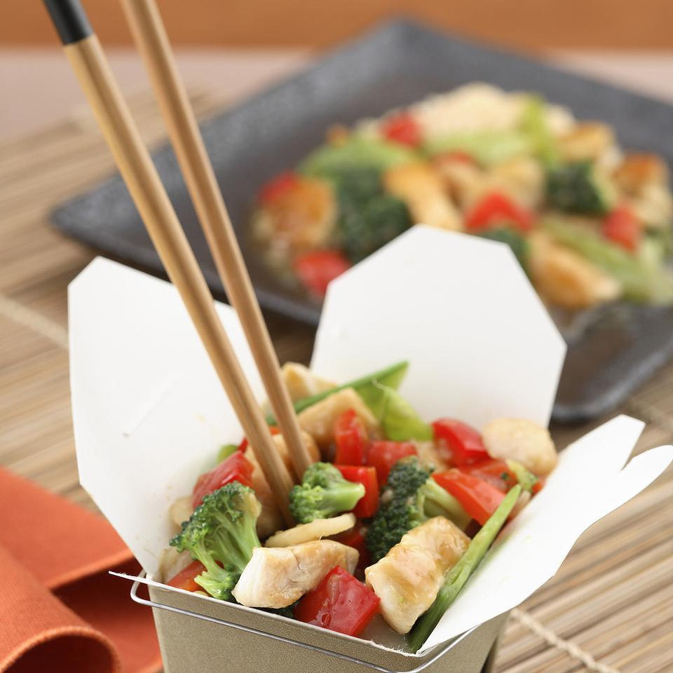 Sweet & Sour Chicken with Brown Rice EatingWell Test Kitchen