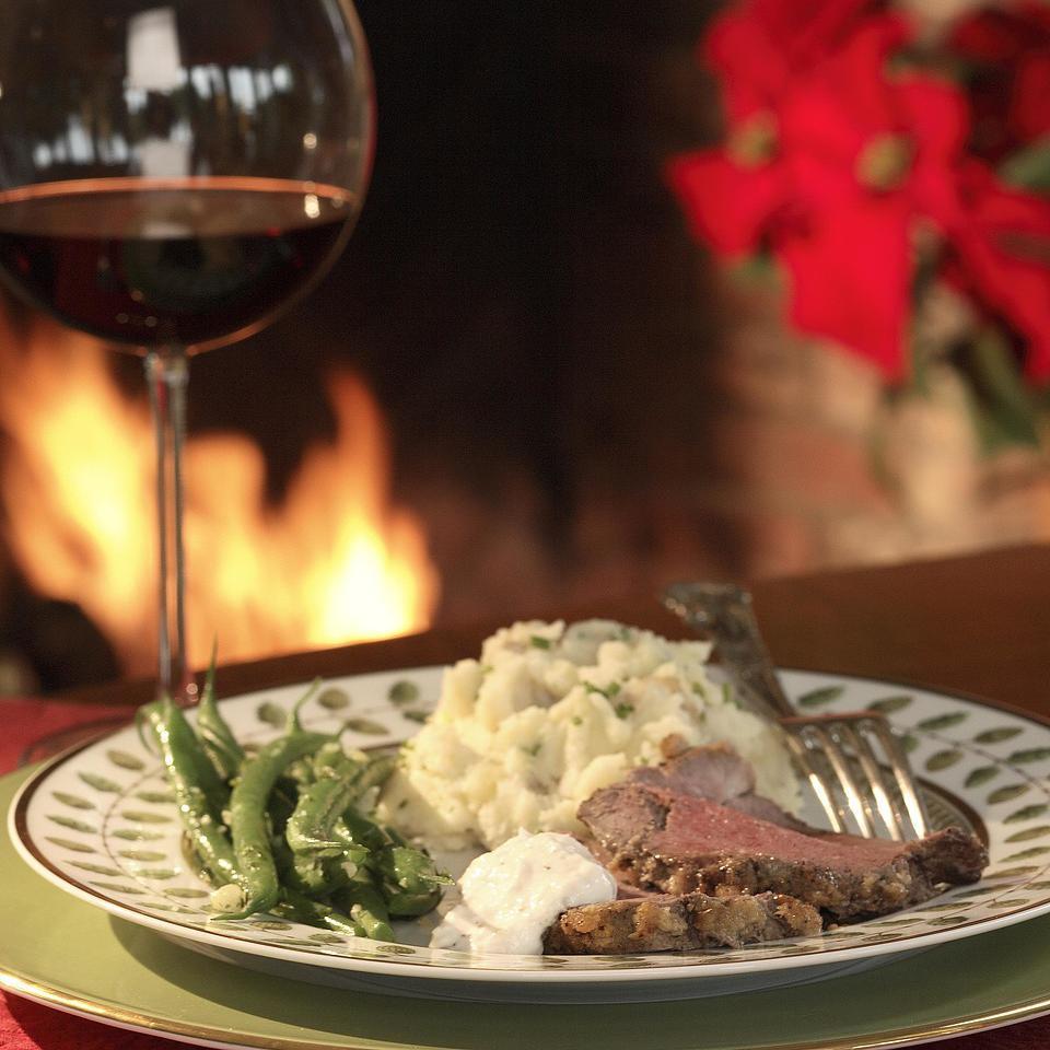 Horseradish-Crusted Beef Tenderloin EatingWell Test Kitchen