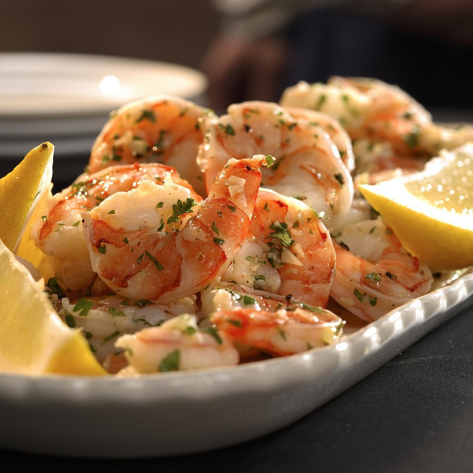 Lemon-Garlic Marinated Shrimp EatingWell Test Kitchen