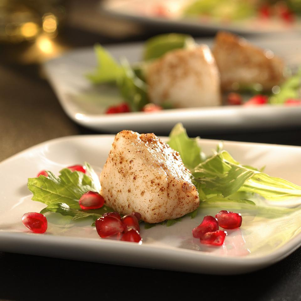Five-Spice Scallops EatingWell Test Kitchen