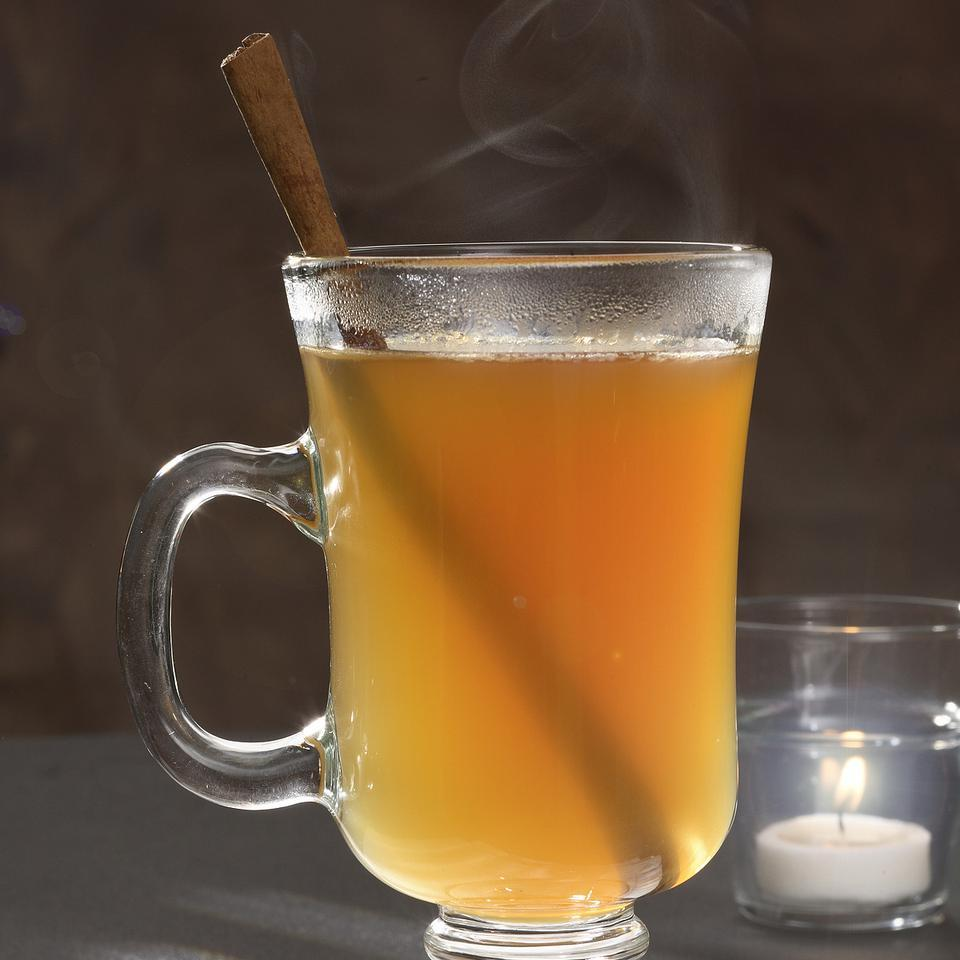 For a nonalcoholic version, omit the applejack and schnapps and add 2 tablespoons cinnamon-flavored syrup, such as Torani brand.