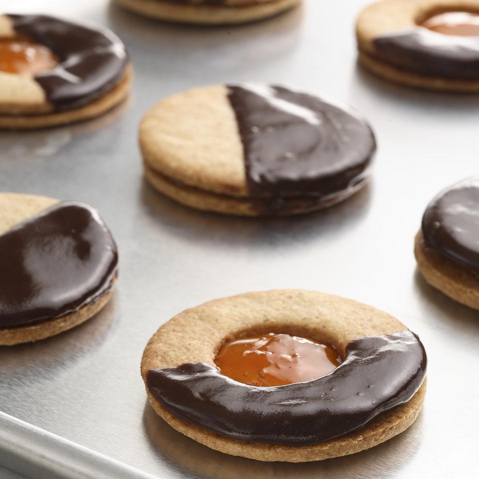 Apricot-Almond Sandwich Cookies Brooke Summerville