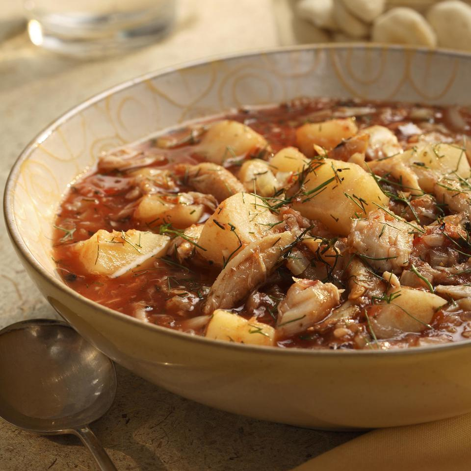 Manhattan Crab Chowder EatingWell Test Kitchen