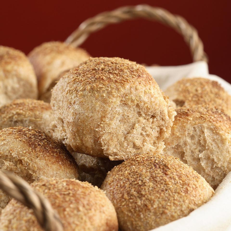 Soft Whole-Wheat Dinner Rolls Katie Webster