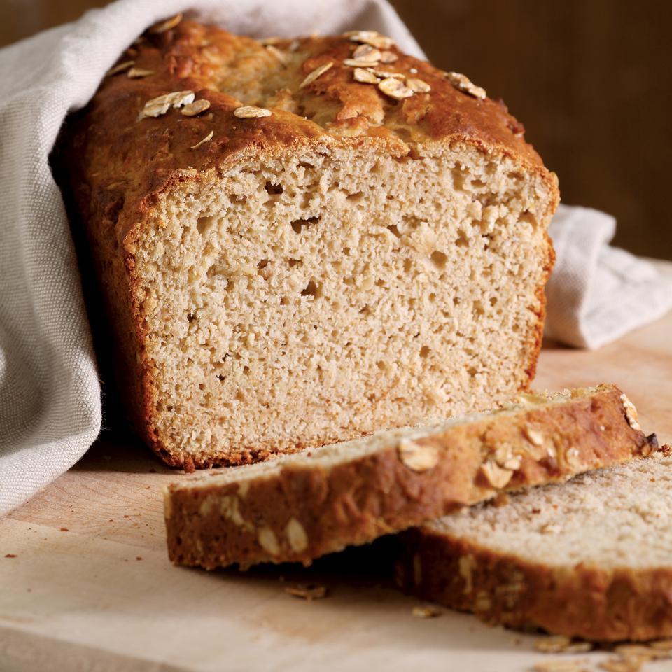 Honey Oat Quick Bread Nancy Baggett