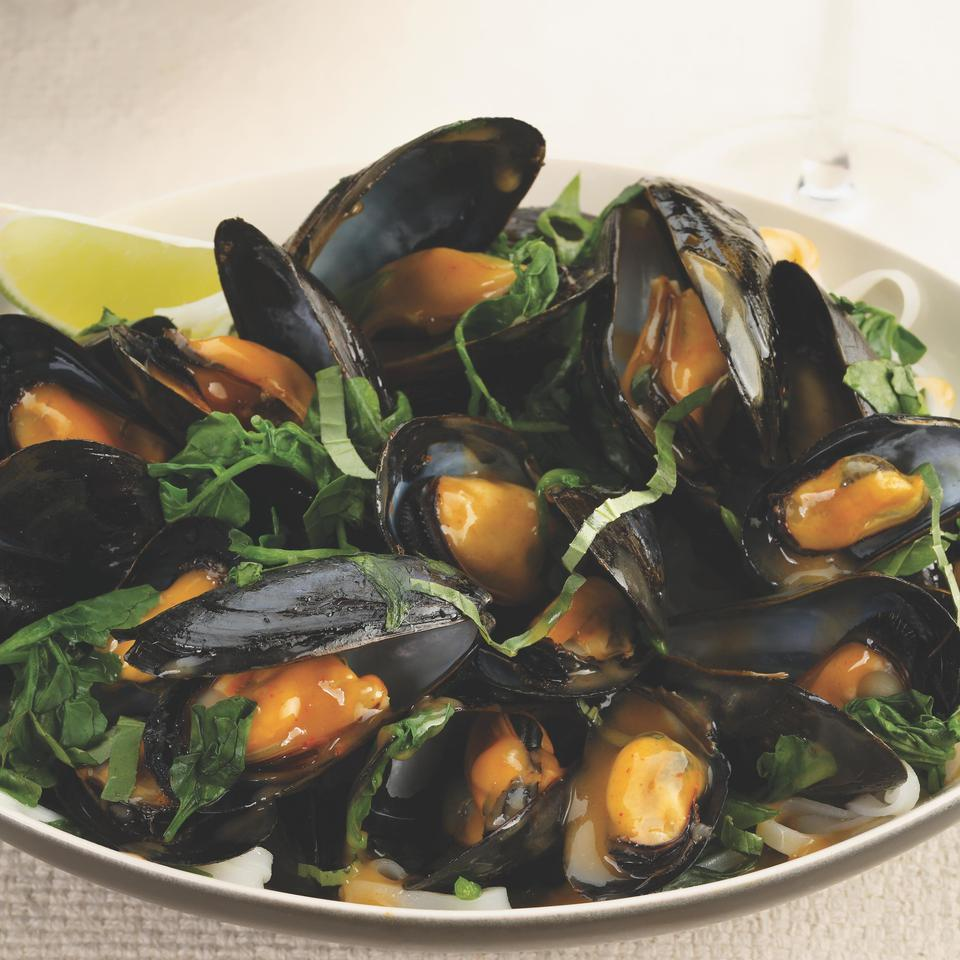 Thai Red Curry Mussels EatingWell Test Kitchen