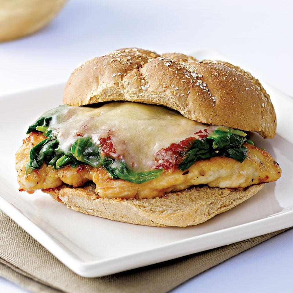 Chicken Parmesan Sandwich EatingWell Test Kitchen