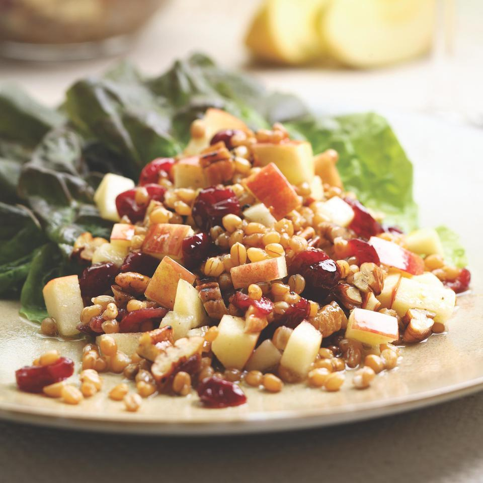 Wheat Berry Salad with Red Fruit Cheryl Sternman Rule