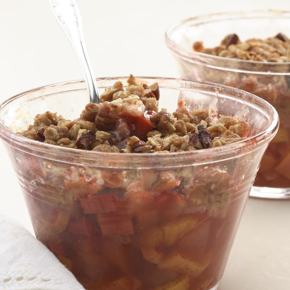 Rhubarb Crisp EatingWell Test Kitchen