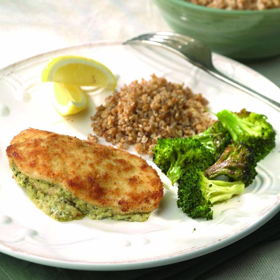 Goat Cheese-&-Olive-Stuffed Chicken Breasts EatingWell Test Kitchen