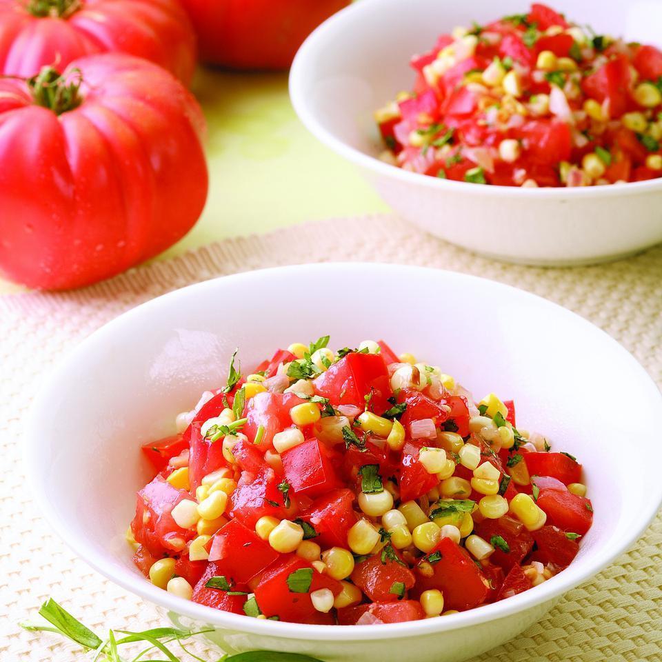 Corn & Tomato Saute EatingWell Test Kitchen